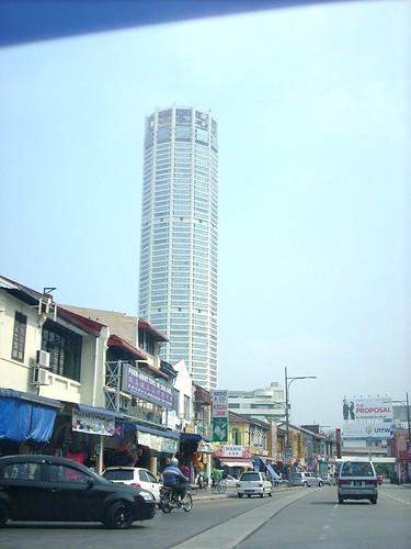 DSCN1746 遥望Komtar , 槟城