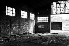 Industrial Decay (bm^) Tags: light blackandwhite bw white streetart black industry graffiti licht nikon industrial belgium belgique zwartwit decay belgi westvlaanderen zwart wit industrie kortrijk courtrai verval industrieel d90 blackwhitephotos westernflanders nikond90bw