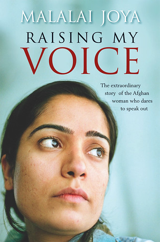 Raising My Voice: Cover of book by Malalai Joya