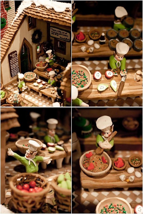 Pumpkin Semifreddo With A Side Of Gingerbread Houses ...