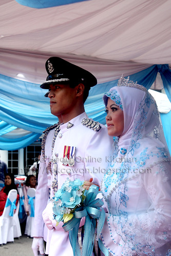 Wedding tower for Insp. Hashimah & ASP Ahmad Ridha, Balai Polis Trafik Dang Wangi, KL - 8 August 09