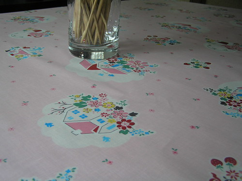 new tablecloth up close