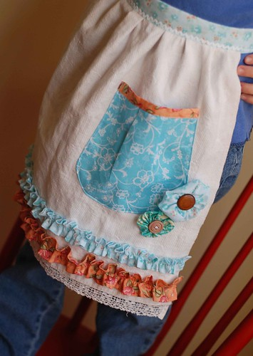 girls apron by you.