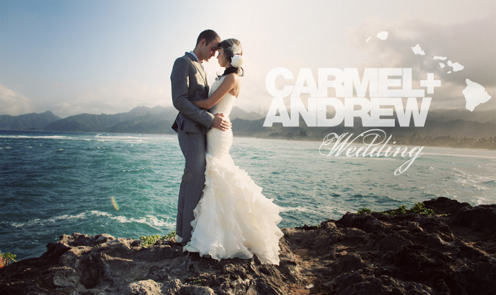 Carmel & Andrew - Oahu Wedding