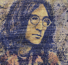 John Lennon (Ben Heine) Tags: uk portrait musician texture love face rock triangles hair rebel glasses colours geometry modernart famous politics fame tracks violet romance popart help albums tragedy singer imagine mauve writer pace halloffame why lover lennon yesterday author johnlennon lunettes immortal legacy guitarist murdered tutorial activist yokoono rockandroll yellowsubmarine musique thebeatles visage eternal songwriter paix stepbystep controversial eleanorrigby letitbe givepeaceachance seanlennon speedpainting ladymadonna heyjude mybonnie tapes benheine ferncliffcemetery