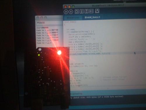 arduino blinkm