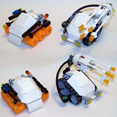 LEGO - Mars Mission Subterranean Force 1 & 2 (Slayerdread) Tags: lego subterranean armored miners moc marsmission