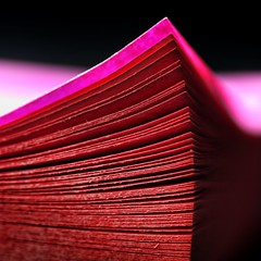 envision-it:  347/365 (helen sotiriadis) Tags: pink black macro closeup backlight canon paper published dof notes time pages bokeh postit fuschia depthoffield 365 moment reminder stationery canonef100mmf28macrousm canoneos40d toomanytribbles
