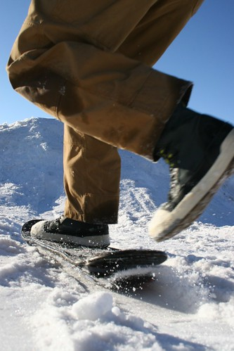 Snow Rover boots in action