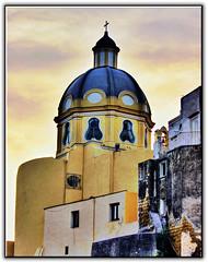 La chiesa di Santa Maria delle Grazie, alla Corricella (cischia) Tags: isle procida isola italt corricella