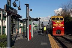 Sounder arriving Tacoma, WA (DWHonan) Tags: seattle railroad station train washington platform rail railway trains passenger railroads sounder soundtransit