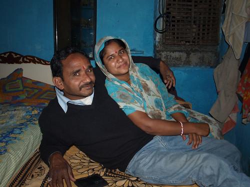 Ghan y su mujer