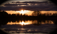 Evening reflections. (chaytrogg) Tags: sunset alaska photography ak anchorage littlefield chay chaytrogg