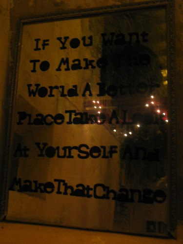 El espejo del cambio