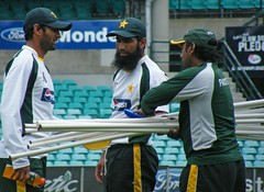 PAKISTAN CRICKET TEAM TRAINING