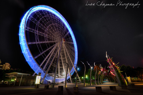 Wheel of Brisbane HDR