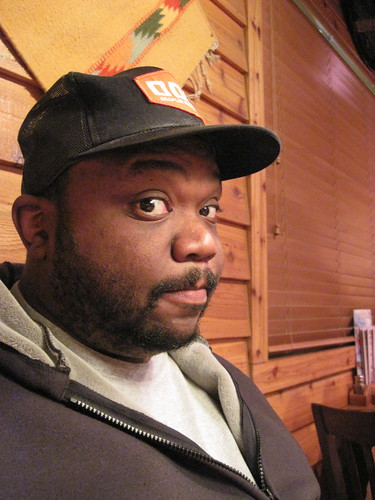 Me at Texas Roadhouse, Grand Forks, ND
