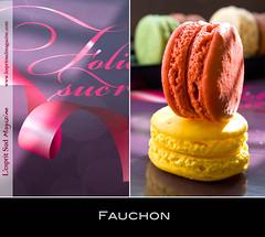 Macarons Fauchon (Scrumptious Venus) Tags: food paris france gourmet patisserie macaroon fauchon macaron lespritsudmagazine gastronomymagazine