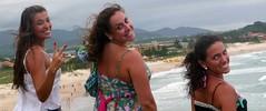 señoritas (alvez) Tags: reveillon summer brazil sun sol praia beach brasil playa verano brazilian galera garopaba ferrugem brasileiro sul guarda calor guardadoembau verao
