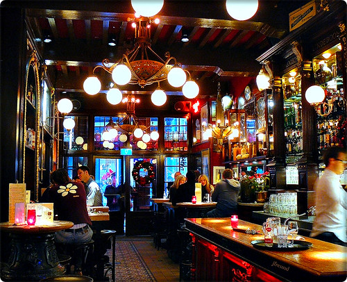 Amsterdam café