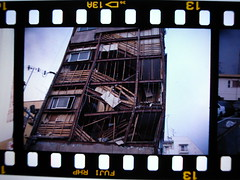 #19950117 Great Hanshin-Awaji Earthquake (mah_japan) Tags: film earthquake kobe fujichrome hanshin positivefilm 19950117
