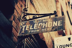 17/365 17th January 2010 - You may telephone from here