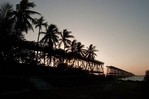 Sunset on Old Bahia Honda Bridge