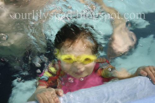 Swimming underwater!