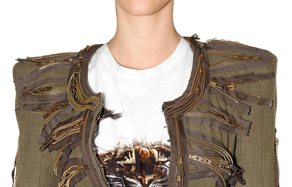 Balmain SS2010 zipper jacket 2 2