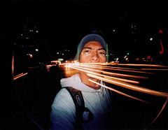 5_2_1_3 (Ockesaid A.k.a ockes) Tags: 2 selfportrait film mexico lomo df joel autoretrato fisheye 200 pelicula asa reforma lugo calles exposicion fotografo doble nocturno ockesaid