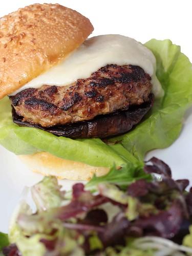Kurobuta Pork & Portobello Burger