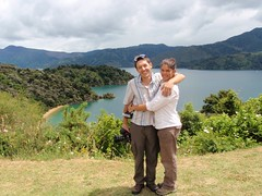 Nat et Nico aux Marlborough Sounds