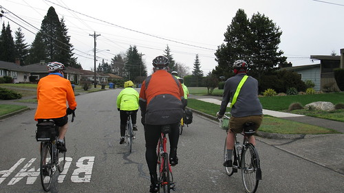 Tacoma Wheelmen Mon Hale Hearty & Ready for Coffee Ride  Feb 1st 017