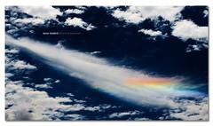 Rainbow Spaceship ([ Kane ]) Tags: sky color colour weather clouds rainbow day halo australia brisbane qld queensland kane sundog sundogs gledhill 50d wipsyclouds kanegledhill wwwhumanhabitscomau kanegledhillphotography