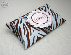 Zebra Collection Mini Pillow Box (posh pixels design studio) Tags: party cute parties etsy papercraft printable