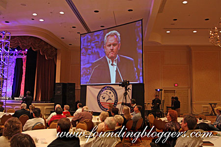 (PICTURES) Andrew Breitbart Speaks At National Tea Party Convention