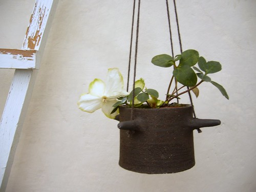 small hanging basket by karin eriksson.