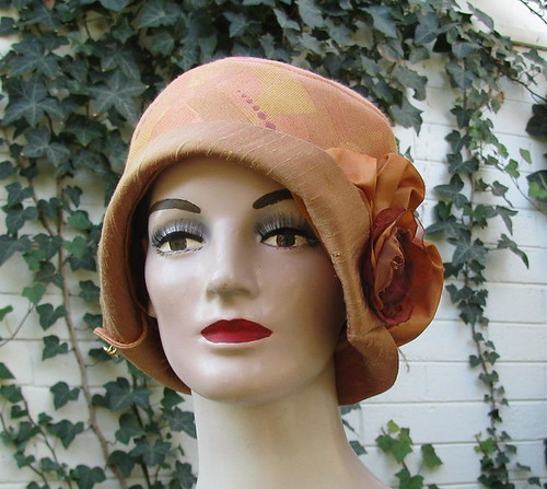 Reproduction Vintage Style Cloche Hat
