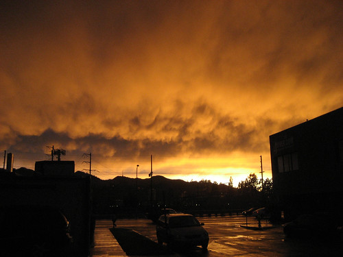 Post-rain sky