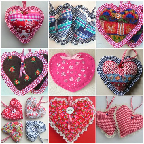 Dutch colour hearts