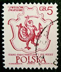 great stamp Poland 5 gr Mermaid of Warsaw - coat of arms of Old Warswa; (Meerjungfer / Meerjungfrau Wappenfigur altes Stadtwappen Warschau; Warszawska Syrenka, Варшавская сирена, Sirène, Sirena, 人魚) Polen Polska armorial bearings hatchments warszawy posta (stampolina, thx ! :)) Tags: poland polska polen warszawy warsaw stamp franco postage briefmarke timbre selo sello marke marka bollo porto sellos francobollo red rot francobolli stamps briefmarken stempel selos mythicalcreatures tiere fabelwesen 集邮 филателия марка jíyóu animals pologne rojo लाल 赤 merah kırmızı 红 rosso piros màuđỏ สีแดง 切手 أحمر rood punainen rouges czerwony vermelho सड़ांध κόκκινοσ 붉은 pulu mythology coatofarms stadtwappen warschau mermaid meerjungfrau meerjungfer warszawskasyrenka варшавскаясирена sirène sirena 人魚 lenkija polija 波兰 polsko 폴란드 wappen syrenka
