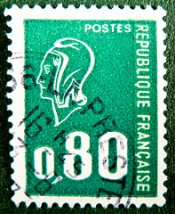 french stamp France Poste