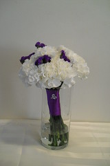 C/P Toss Bouquet2 (elitedesignsbydaphne) Tags: purple lavender carnation callalily