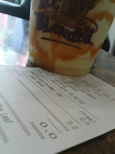 Coffee Bean Banana Caramel Ice Blended