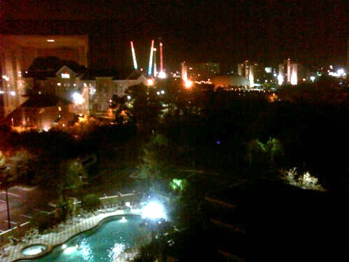 Night View from Crowne Plaza