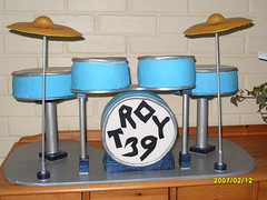 Drum kit cake (K Cs Cakes) Tags: cake drum kit