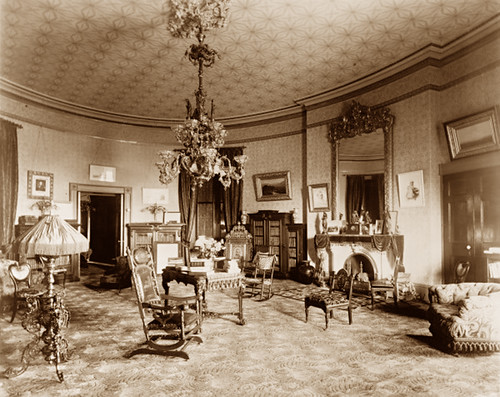 Yellow Oval Room White House 1890 A Photo On Flickriver