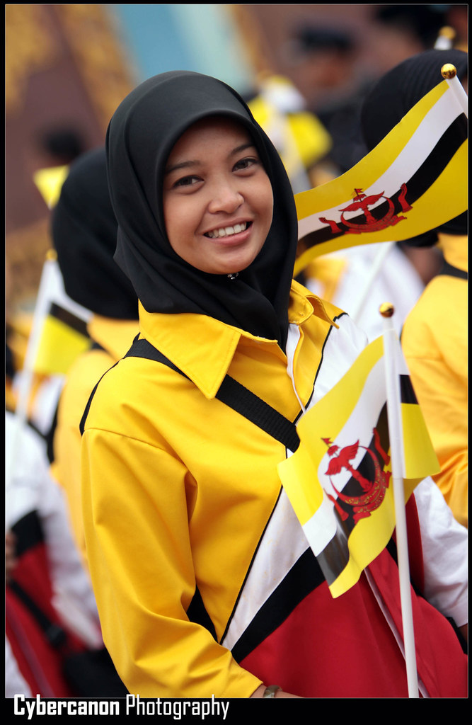Brunei Flag Colors