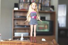 Sharpay   High  school  Musical  doll  2 (Mike L2009) Tags: hot sexy fashion tv doll barbie teen miniskirt highschoolmusical sharpay