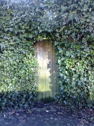 secret garden spring door